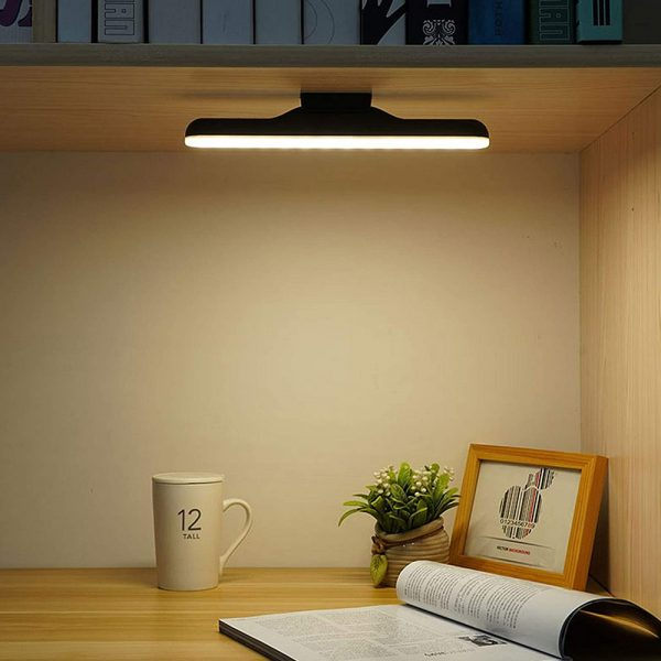 Dimmable LED Magnetic Light Strip Touch Lamp for Reading and Closet_4