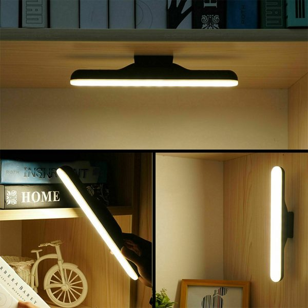 Dimmable LED Magnetic Light Strip Touch Lamp for Reading and Closet_12