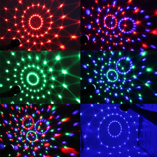 Remote Controlled RGB LED Light Voice Activated Rotating Crystal Light_10