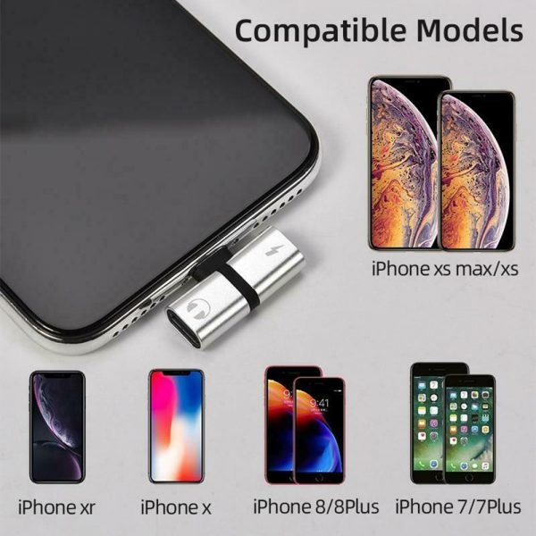 T- Shaped Dual Port Headset and Charger Splitter for Apple iPhone_10