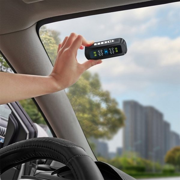 Solar Powered TPMS Monitoring System with Colored Digital Display_2