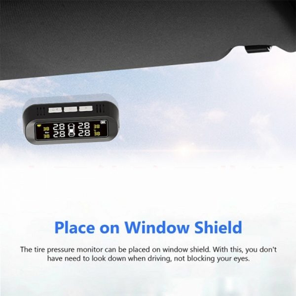 Solar Powered TPMS Monitoring System with Colored Digital Display_6