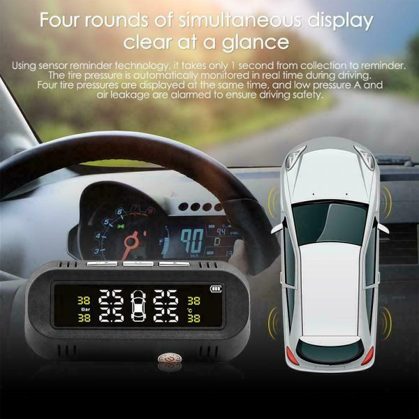 Solar Powered TPMS Monitoring System with Colored Digital Display_10