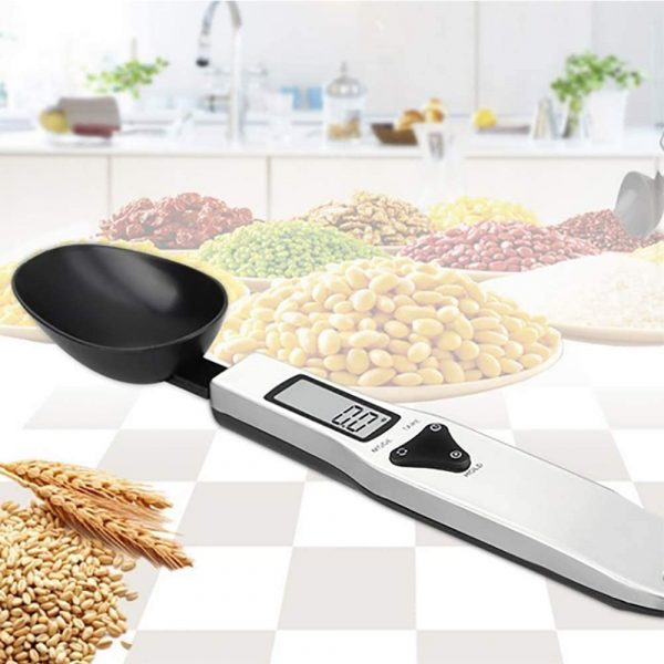 Digital Kitchen Spoon with LCD Display for Dry and Liquid Ingredients_2