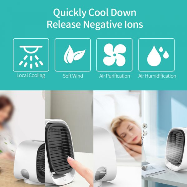 USB Mini Air Conditioner Air Cooling Fan for Home and Office Use_13