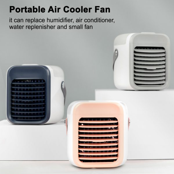 7 Light Color 3 Speed Portable Cordless Personal Air Conditioner_4