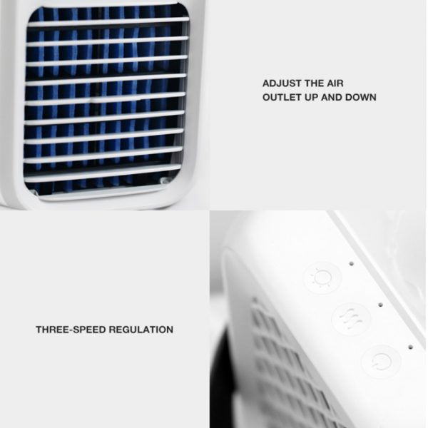 7 Light Color 3 Speed Portable Cordless Personal Air Conditioner_14