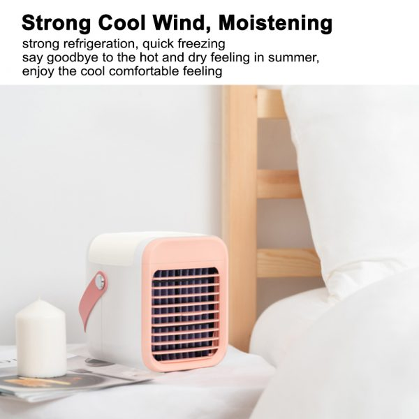 7 Light Color 3 Speed Portable Cordless Personal Air Conditioner_5