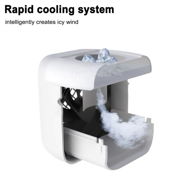 7 Light Color 3 Speed Portable Cordless Personal Air Conditioner_9