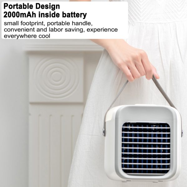 7 Light Color 3 Speed Portable Cordless Personal Air Conditioner_10