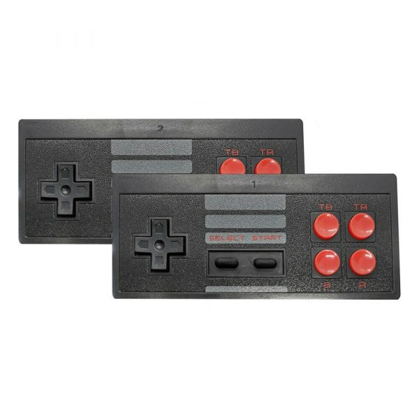 Wireless Handheld TV Gaming Console with Built-in Retro Games_0