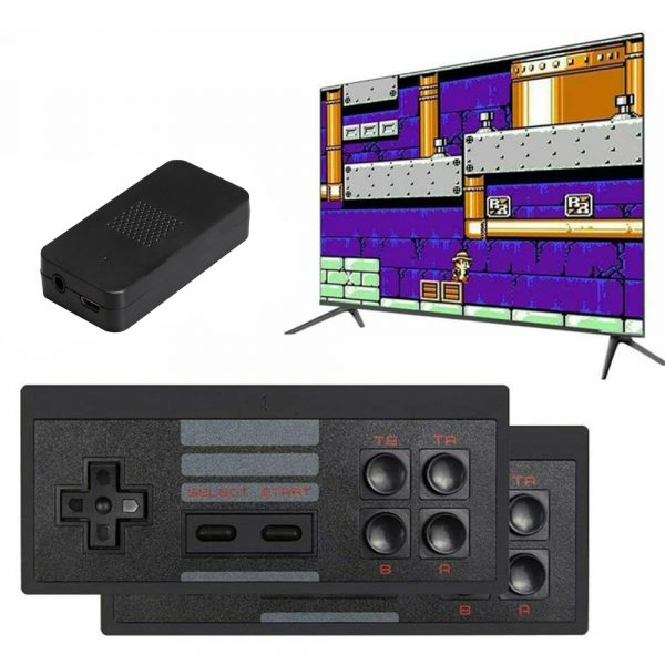 Wireless Handheld TV Gaming Console with Built-in Retro Games_2