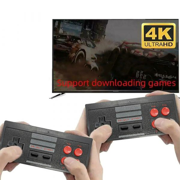 Wireless Handheld TV Gaming Console with Built-in Retro Games_5