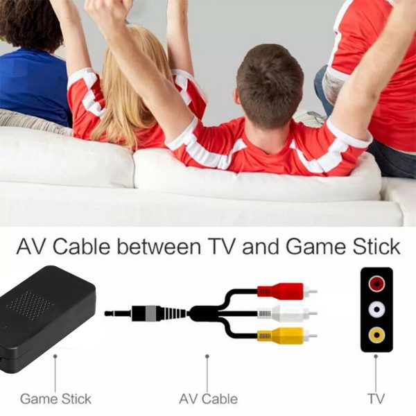 Wireless Handheld TV Gaming Console with Built-in Retro Games_6