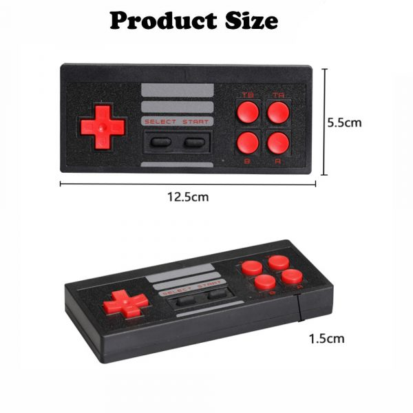 Wireless Handheld TV Gaming Console with Built-in Retro Games_9