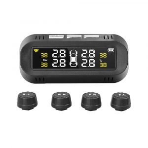 Solar Powered TPMS Monitoring System with Colored Digital Display
