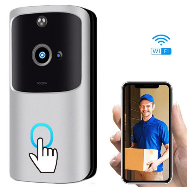 Wi-Fi Enabled Smart Doorbell Motion Detection and 2-Way Audio_2