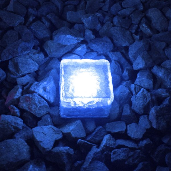 Solar Powered Multi-Color Light Up LED Light Cubes with Switch_6