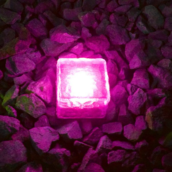 Solar Powered Multi-Color Light Up LED Light Cubes with Switch_7