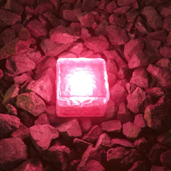 Solar Powered Multi-Color Light Up LED Light Cubes with Switch_9