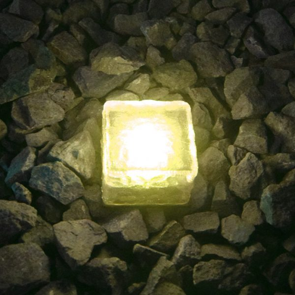 Solar Powered Multi-Color Light Up LED Light Cubes with Switch_10