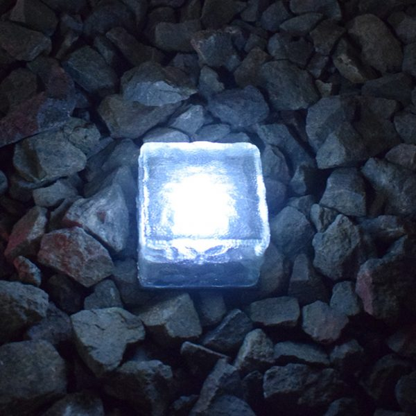 Solar Powered Multi-Color Light Up LED Light Cubes with Switch_11