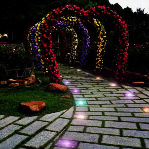 Solar Powered Multi-Color Light Up LED Light Cubes with Switch_21