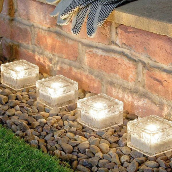 Solar Powered Multi-Color Light Up LED Light Cubes with Switch_23