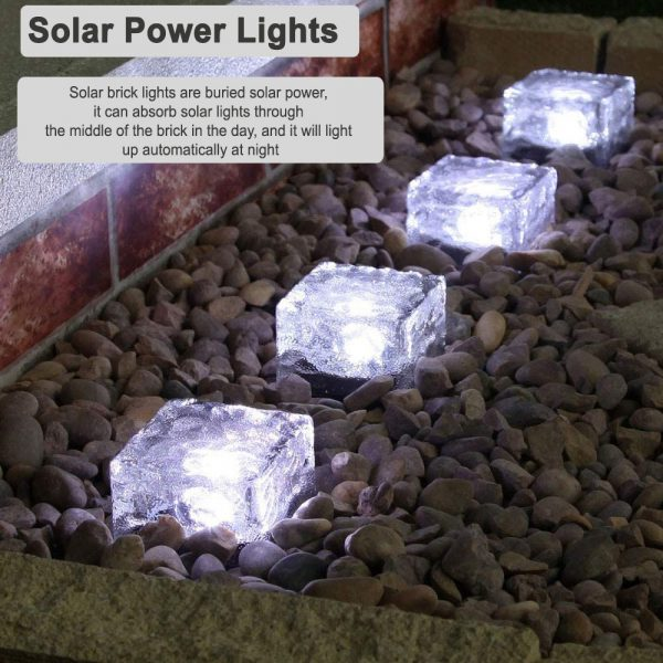 Solar Powered Multi-Color Light Up LED Light Cubes with Switch_13