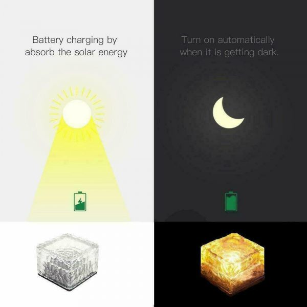 Solar Powered Multi-Color Light Up LED Light Cubes with Switch_17