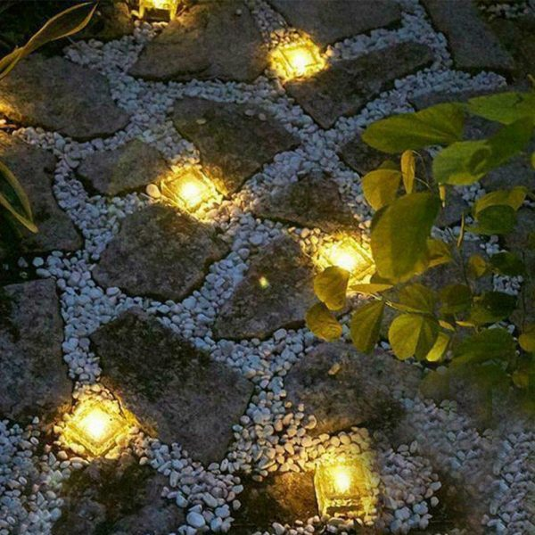 Solar Powered Multi-Color Light Up LED Light Cubes with Switch_19
