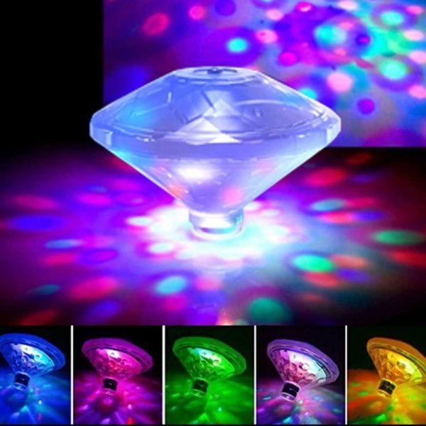 Floating Underwater RGB LED Light for Swimming Pool Bath Tubs_0