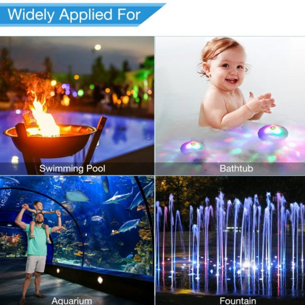 Floating Underwater RGB LED Light for Swimming Pool Bath Tubs_8