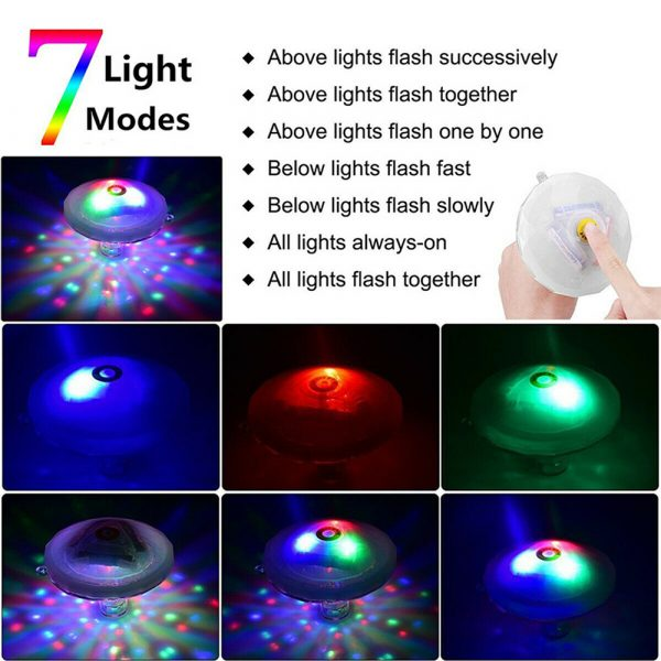 Floating Underwater RGB LED Light for Swimming Pool Bath Tubs_12
