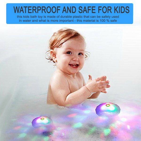 Floating Underwater RGB LED Light for Swimming Pool Bath Tubs_13
