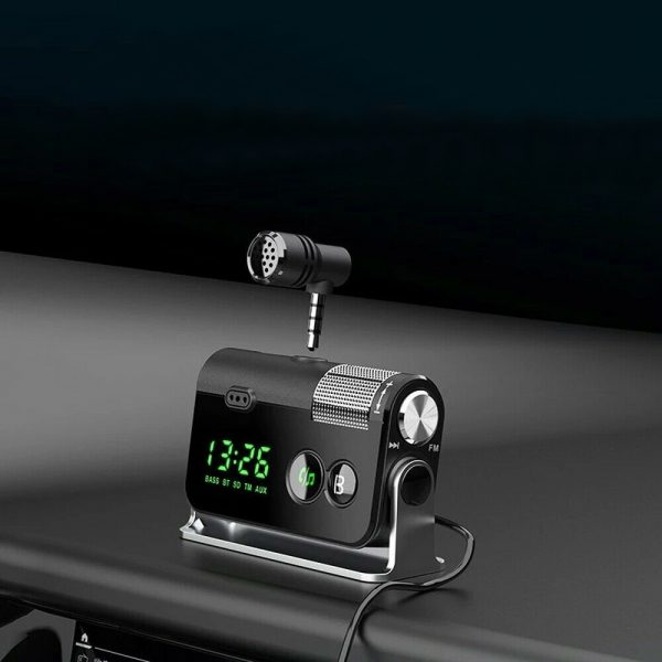 QC3.0 Car Charger Mp3 Player Handsfree FM Transmitter_3
