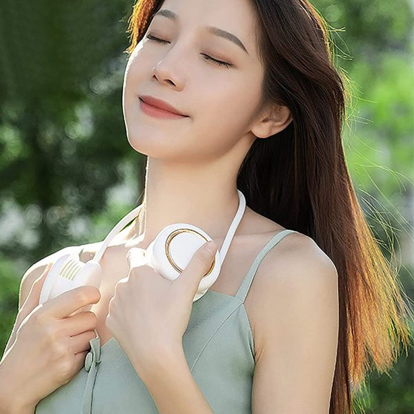 Portable Neck Fan Bladeless Hanging Personal Air Conditioner_2