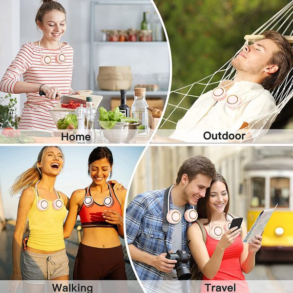Portable Neck Fan Bladeless Hanging Personal Air Conditioner_8