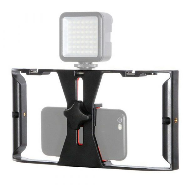 Professional Smartphone Photography Cage Rig Video Stabilizer Grip_1