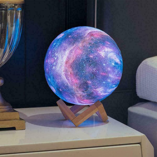 Moon Light Starry Sky Night Lamp for Children's Bedroom with Remote_1