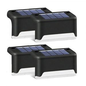 LED Light Solar Powered Staircase Step Light for Outdoor Use
