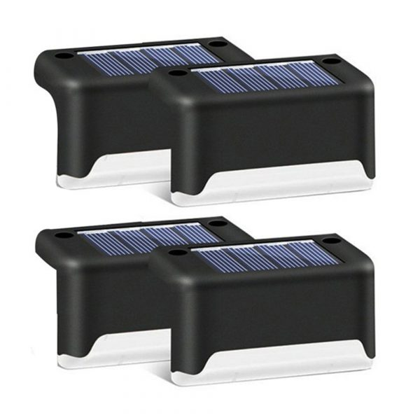 LED Light Solar Powered Staircase Step Light for Outdoor Use_0
