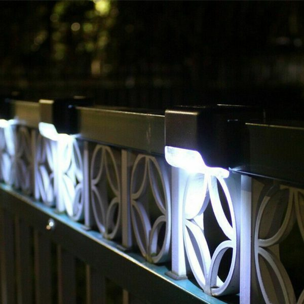 LED Light Solar Powered Staircase Step Light for Outdoor Use_3