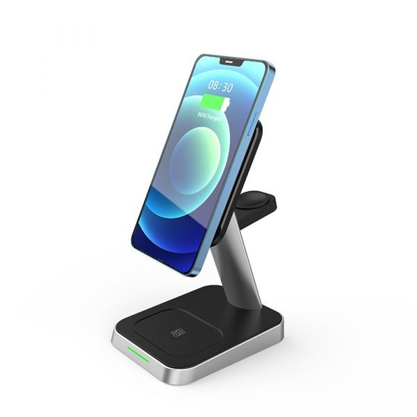 3-in-1 MagSafe Mobile Phone Smart Watch Airpods Wireless Charger_2
