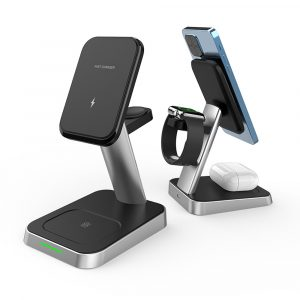 3-in-1 MagSafe Mobile Phone Smart Watch Airpods Wireless Charger