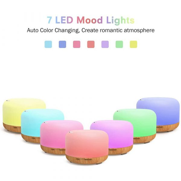 Aroma Therapy Essential Oil Diffuser and Mist Humidifier_3