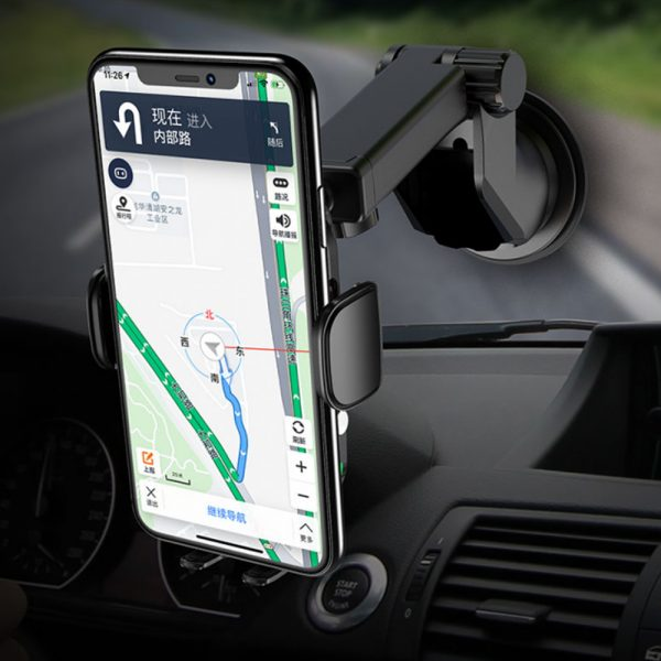 15 W Fast Wireless Car Mobile Phone Holder and QI Charger_3