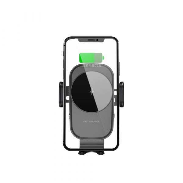 15 W Fast Wireless Car Mobile Phone Holder and QI Charger_4