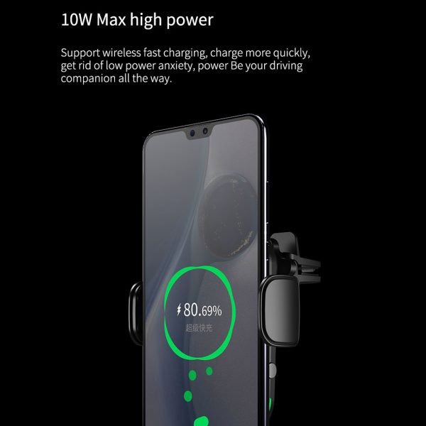 15 W Fast Wireless Car Mobile Phone Holder and QI Charger_9