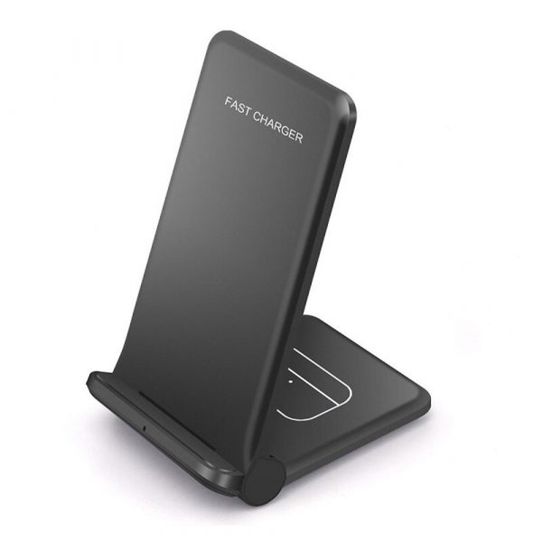 2-in-1 Foldable QI Enabled Wireless Charger Fast Charging Dock_1
